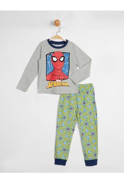Spiderman Çocuk Pijama Takımı 15168