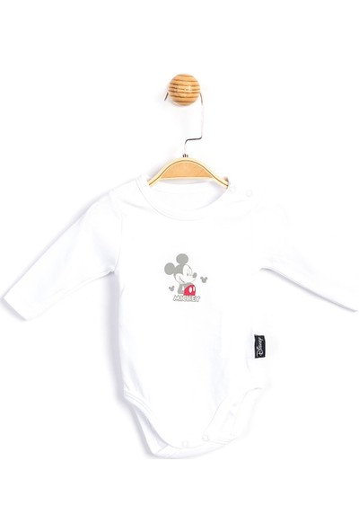 Disney Mickey Uzun Kol Body 15229