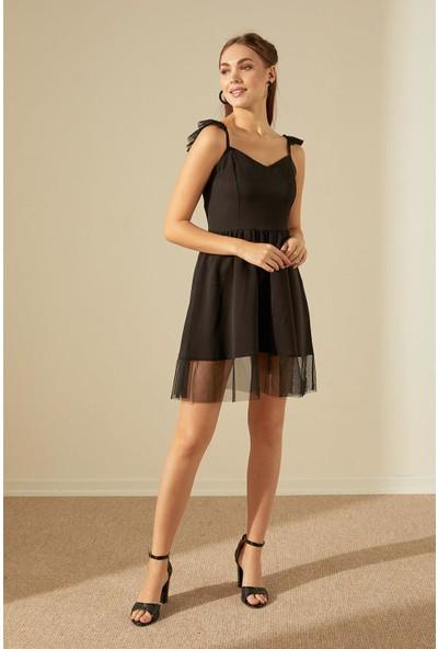 Trendmay Melek Kanat Elbise-001