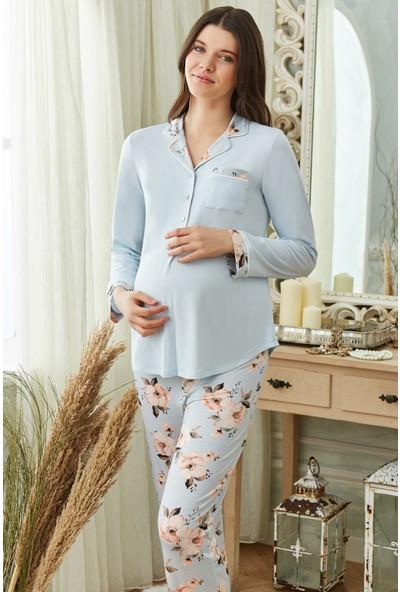 Cossy By Aqua 20221 Lohusa Pijama Takım
