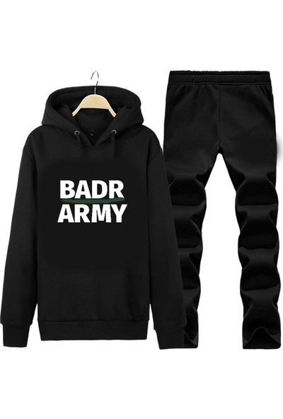 Art T-Shirt Badr Army Unisex Kapüşonlu Eşofman Takımı