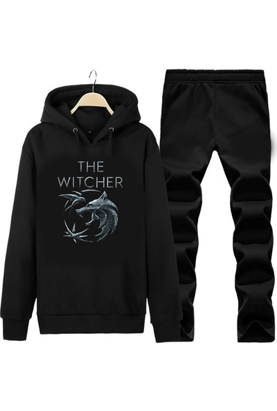 Art T-Shirt The Witcher Unisex Kapüşonlu Eşofman Takımı