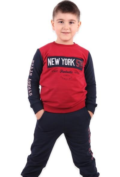 Breeze Erkek Çocuk Eşofman Takımı Kırmızı 5-10 Yaş