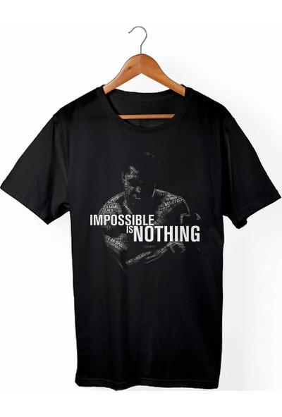 Muggkuppa Muhammed Ali Çocuk Siyah T-shirt
