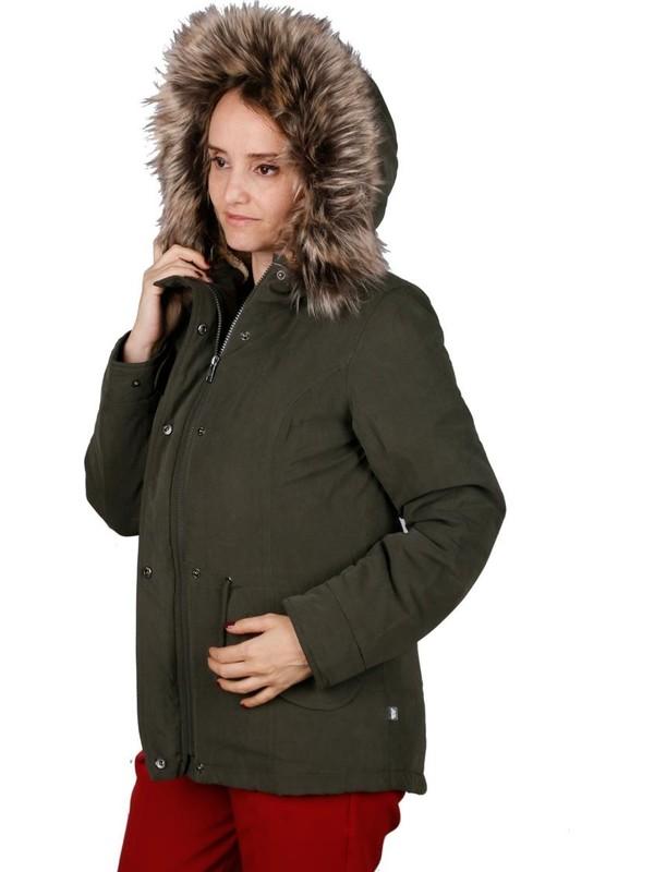 Only Yeşil Kadın Günlük Mont 15158948-Pe Lucca Parka Jacket Oyw Peat