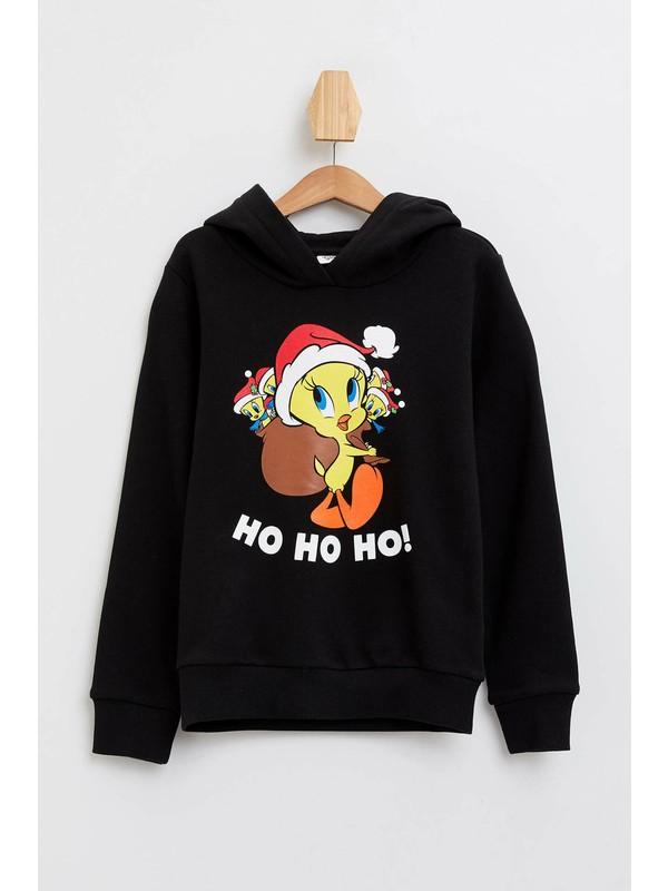 DeFacto Kız Çocuk Looney Tunes Lisanslı Sweatshirt N4297A619WN