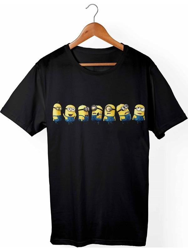 Muggkuppa Minions Çocuk Siyah T-shirt