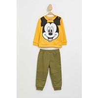 DeFacto Erkek Bebek Mickey Mouse Lisanslı Alt Üst Takım M1449A219AU