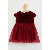 DeFacto Kız Bebek Kadife Elbise