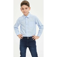 DeFacto Erkek Çocuk Regular Fit Polo Yaka Uzun Kollu Uzun Kollu Gömlek M4522A620SP