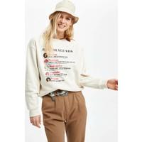 DeFacto Kadın Disney Lisanslı Sweatshirt