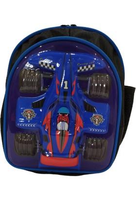 Pyrz F1 Model Kabartmalı Çocuk Okul Çantası