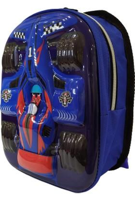 Pyrz F1 Araba Desenli Çocuk Okul Çantası