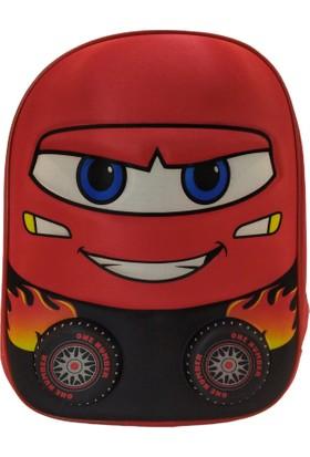 Pyrz Araba Desenli Çocuk Okul Çantası