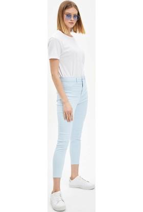 DeFacto Anna Super Skinny Dokuma Pantolon M2223AZ20SM