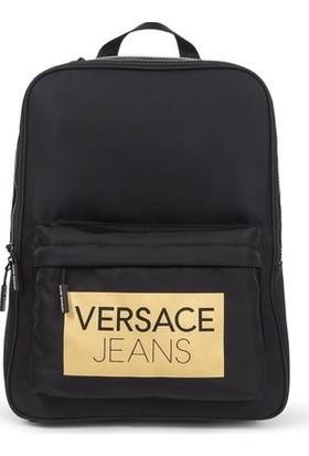 Versace E1Ytbb41-M27 Siyah Unisex Sırt Çantası