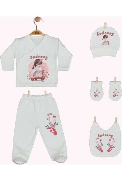 Pia Baby Gl 1940 11 Parça İsme Özel Hastane Çıkışı