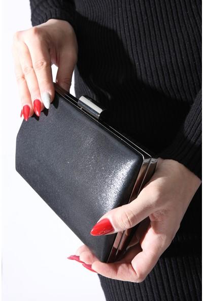 Rovigo Plus Kadın Siyah Portföy Çanta