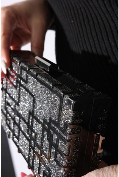 Rovigo Plus Kadın Platin Portföy Çanta