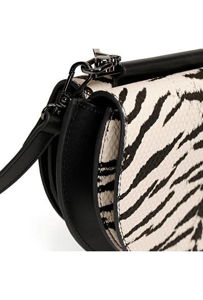 Nine West Charına Zebra Kadın Çapraz Çanta