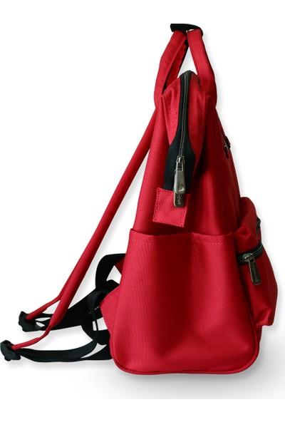 Organicraft Sırt Çantası - Country Backpack - Kırmızı