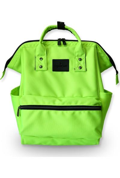 Organicraft Sırt Çantası - Country Backpack - Neon Yeşil