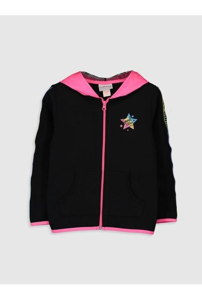 LC Waikiki Kız Çocuk Fermuarlı Sweatshirt