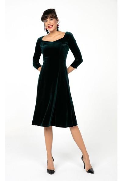 Liplipo Likra Kadife Elbise