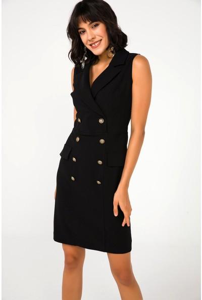 Liplipo Kruvaze Ceket Elbise