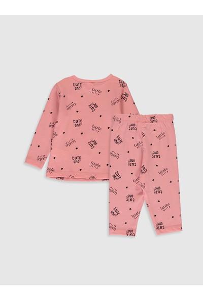 LC Waikiki Kız Bebek Pijama Takımı