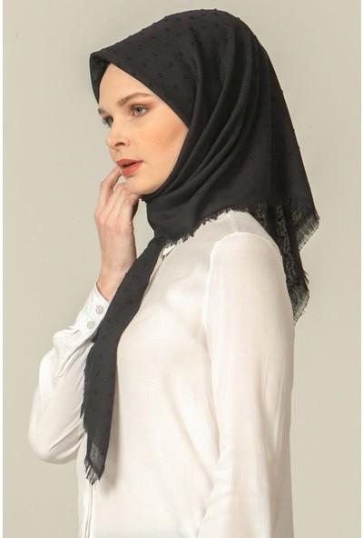 Madame Mary Pıtpıt Eşarp Siyah