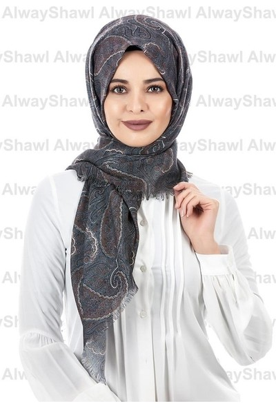 AlwayShawl Şal Desenli Şal TM-09-01