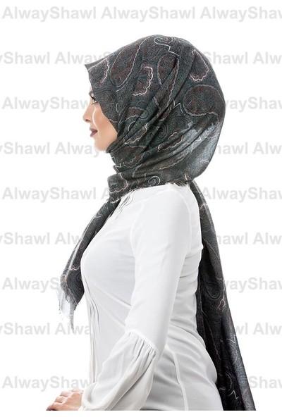 AlwayShawl Şal Desenli Şal TM-09-05