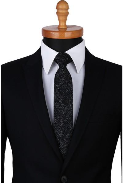 Kravatkolik Siyah Yün Kravat SK7245