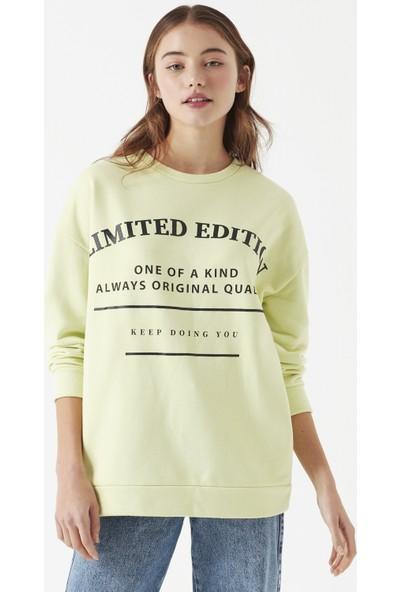 Mavi Limited Edition Baskılı Sweatshirt