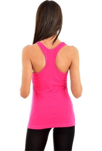 Pemilo Kota 6044 Kadın Renkli Rambo Atlet Fuşya