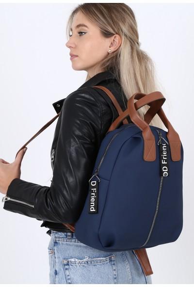 Çanta Sanatı Esta Kadın Sırt Çantası Lacivert My050