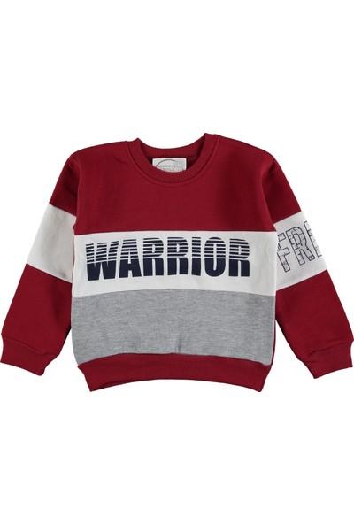 Remi Kids Önü Warrior Desenli Erkek Çocuk Sweatshirt