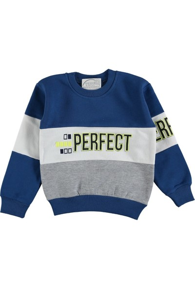 Remi Kids Perfect Desenli Erkek Çocuk Sweatshirt
