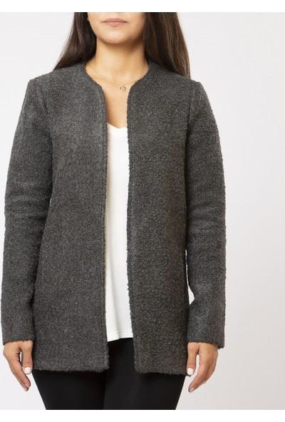 Mousselinn Kadın Gri Ceket