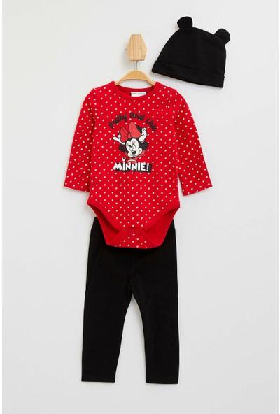 DeFacto Kız Bebek Mickey & Mouse Lisanslı Takım M1345A219WN