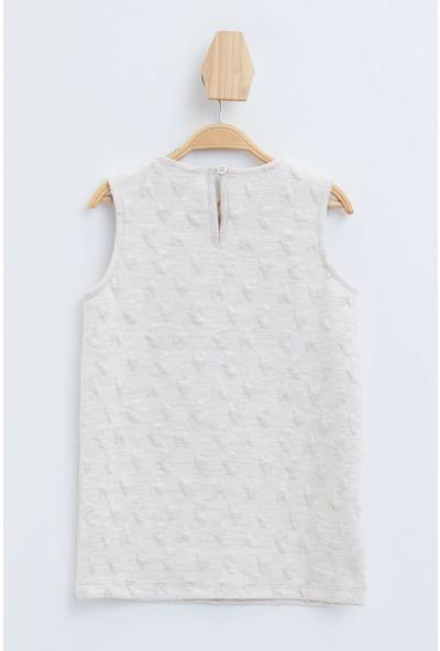 DeFacto Kız Bebek Nakış Baskılı Elbise N4754A219CW