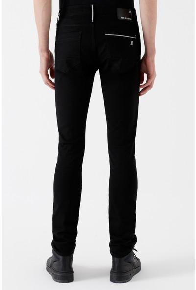 Mavi Erkek James Black Pro Zift Siyahı Jean Pantolon