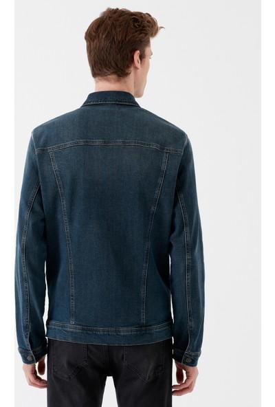 Frank Mavi Black Jean Ceket 0115229300