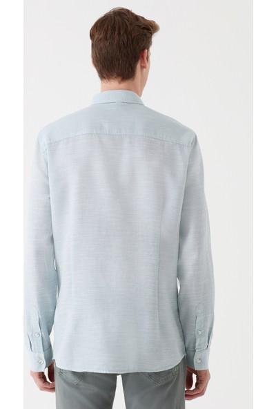 Mavi Erkek Yeşil Gömlek 020579-29827