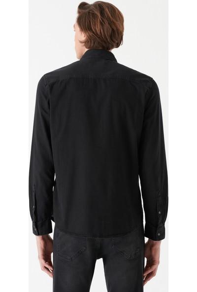 Rio Siyah Mavi Black Jean Gömlek 0295727005