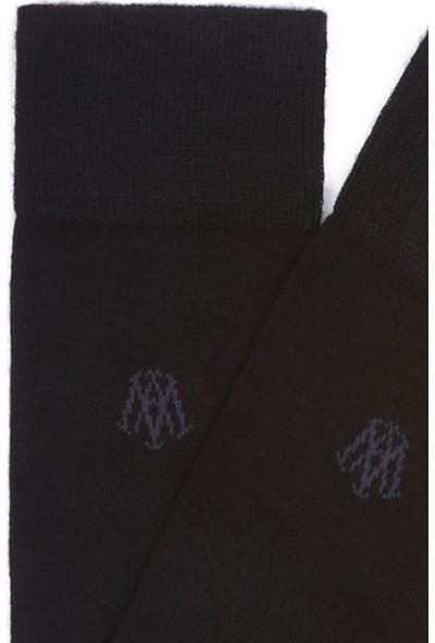 Mavi Erkek Siyah Soket Çorap 090250-26341