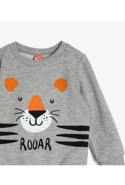 Koton Erkek Bebek Baskılı Sweatshirt