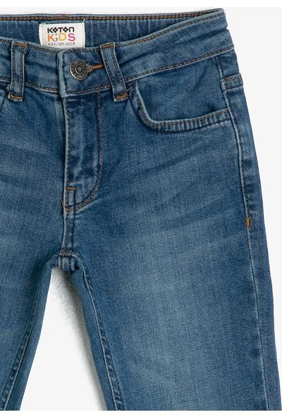 Koton Erkek Çocuk Cep Detaylı Jean Pantolon