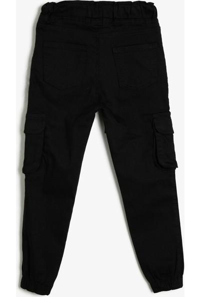 Koton Erkek Çocuk Beli Bağlamalı Pantolon